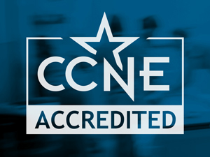 Commission on Collegiate Nursing Education accreditation logo