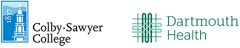 Colby-Sawyer logo and DHH logo