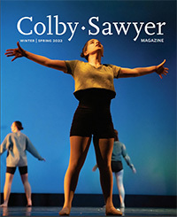 Recent Colby-Sawyer Magazine cover