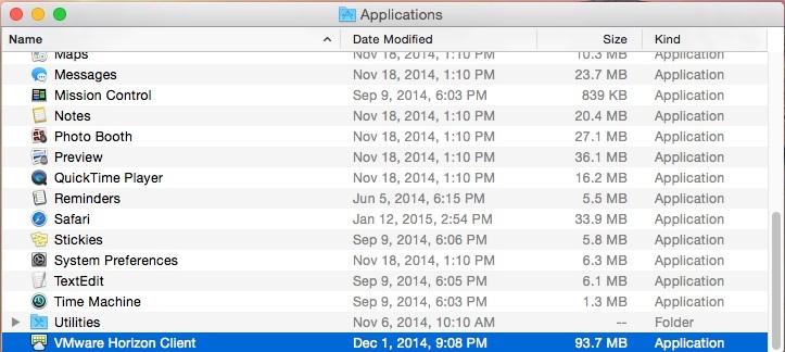 Installing VDI for MacOS