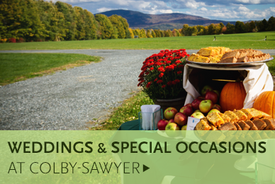 Weddings and Events at Colby-Sawyer