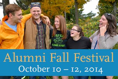 2014 Alumni Fall Festival