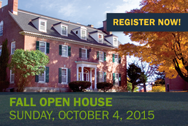 Fall Open House Registration
