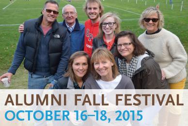 Alumni Fall Festival
