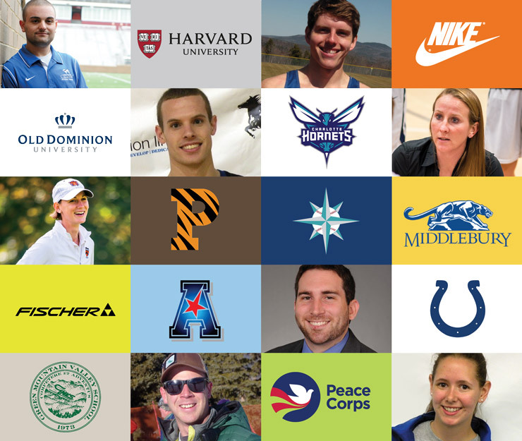 Logos representing Exercise & Sport Sciences graduate employment locations