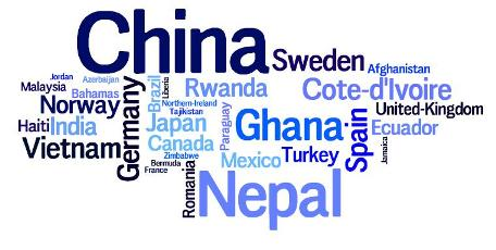 Current Colby-Sawyer students come from over 30 countries.