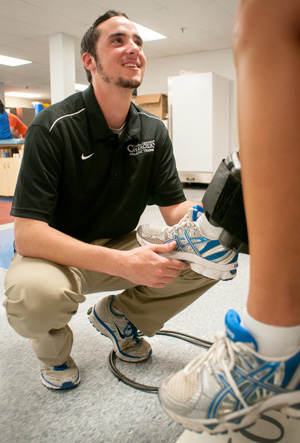 Kevin Flaherty '14, Athletic Training major